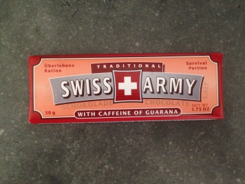 Emergency chocolate w/ caffeine