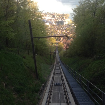 Funicular in Vevey