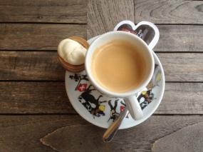 Espresso w/ double cream